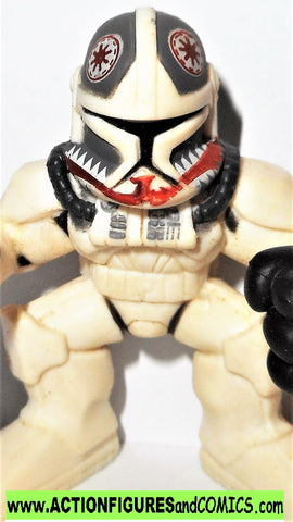 STAR WARS Galactic heroes MATCH STICK Y-WING Pilot clone trooper