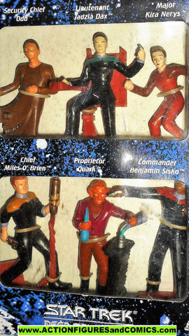 Star Trek applause DEEP SPACE NINE 1994 pvc figurines moc mib 000