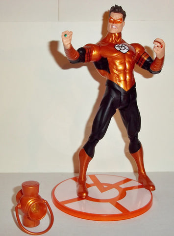 dc direct HAL JORDAN orange lantern COMIC CON exclusive sdcc complete green