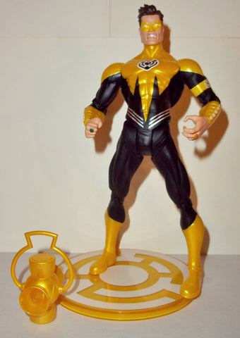 dc direct HAL JORDAN yellow lantern COMIC CON sdcc exclusive green complete collectables