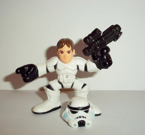 STAR WARS galactic heroes HAN SOLO in STORMTROOPER disguise complete