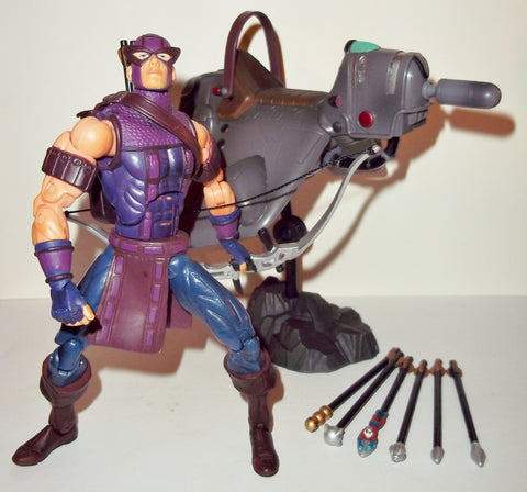 marvel legends HAWKEYE series VII 7 complete toy biz