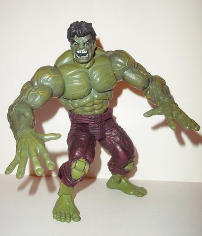marvel legends HULK series 1 bendy fingers variant 2002 2003 toy biz