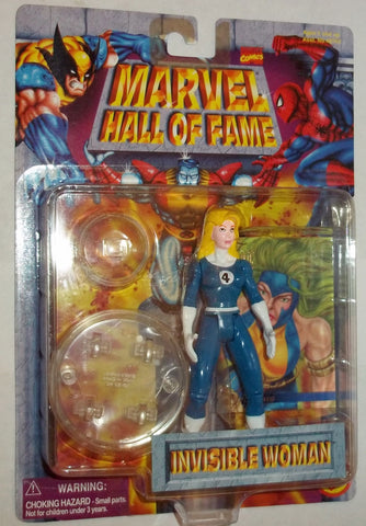 MARVEL hall of fame INVISIBLE WOMAN new moc universe toy biz