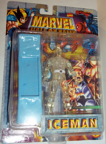 MARVEL hall of fame ICEMAN new moc toy biz x-men universe