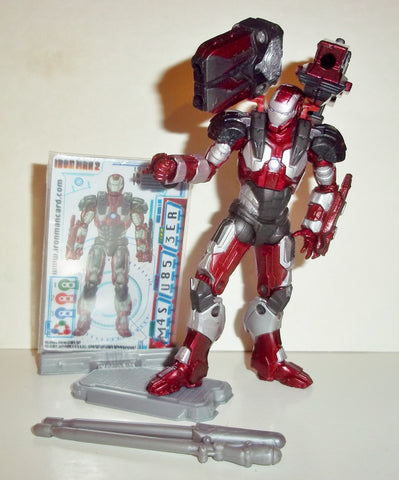 marvel universe WAR MACHINE munitions armor 19 iron man 2 movie hasbro