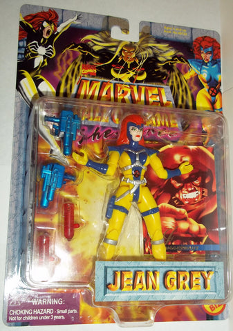 MARVEL hall of fame she force JEAN GREY jim lee x-men style new moc universe toy biz