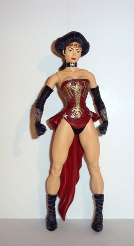 dc direct AMAZONIA wonder woman elseworlds collectables fig