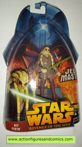 star wars action figures KIT FISTO 22 2005 revenge of the sith hasbro toys moc mip mib