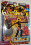 MARVEL hall of fame MS MARVEL WARBIRD new moc avengers universe toy biz