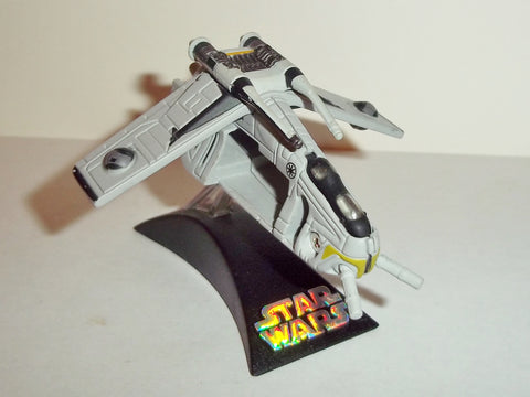star wars titanium REPUBLIC GUNSHIP black command ship complete