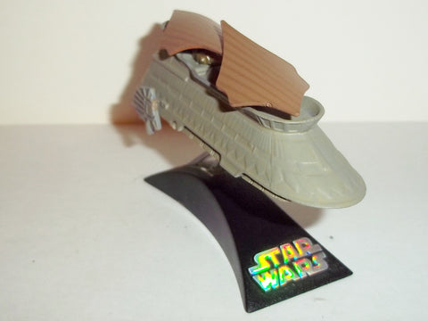 star wars titanium JABBA'S SAIL BARGE complete