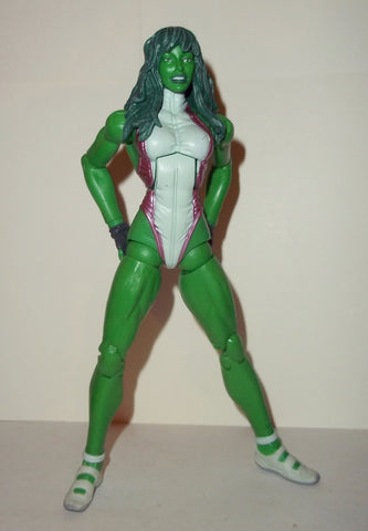 marvel legends SHE HULK blob series complete