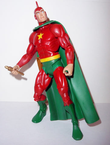 dc universe classics 6 inch STARMAN Ted knight red complete