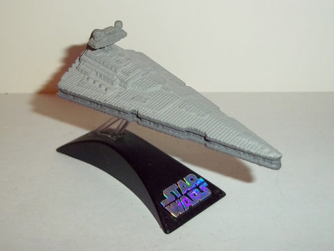 star wars titanium STAR DESTROYER original complete