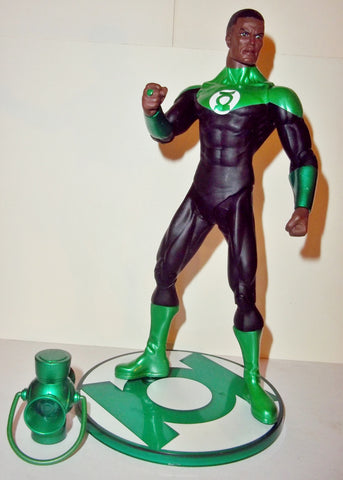 dc direct JOHN STEWART green lantern blackest night complete collectables