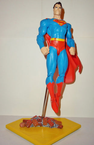 dc direct SUPERMAN through the ages complete collectables