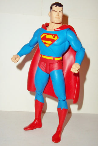 dc direct SUPERMAN super squad CUSTOMIZED all star reactivated 2008