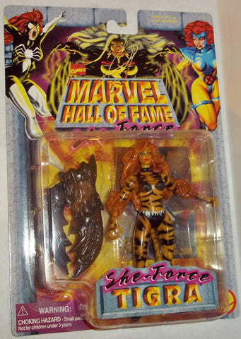 MARVEL hall of fame she force TIGRA new moc toy biz universe