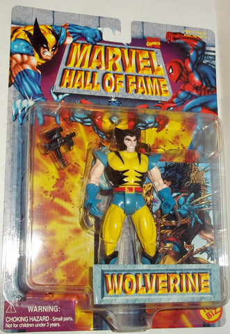 MARVEL hall of fame WOLVERINE UNMASKED new moc toy biz 1997 universe x-men