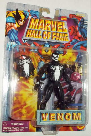 MARVEL hall of fame VENOM spider-man new moc toy biz universe
