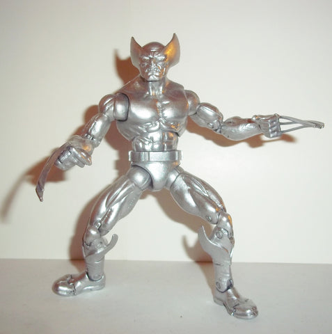 marvel legends WOLVERINE complete SILVER ANNIVERSARY toys r us exclusive