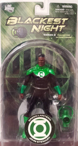 DC direct blackest night JOHN STEWART green lantern new moc series 2 jon universe