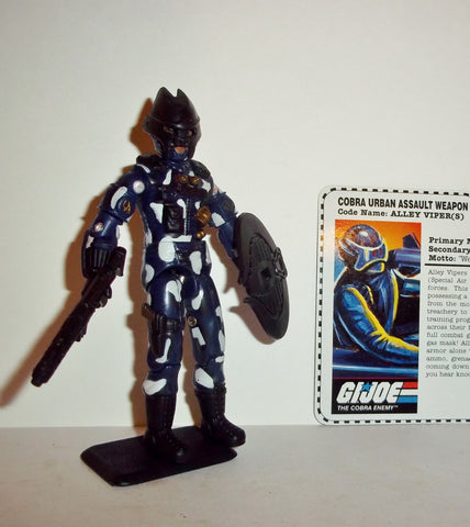 gi joe ALLEY VIPER 1997 v4 15th anniversary TRU exclusive series rage vehicle driver Complete
