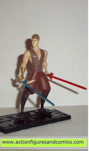 star wars action figures ANAKIN SKYWALKER Animated clone wars hasbro toys action figures