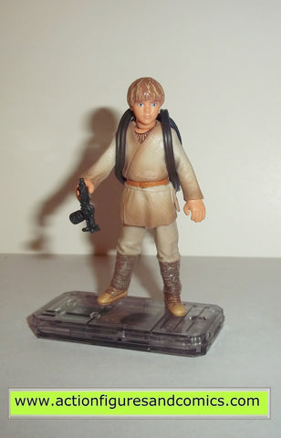 star wars action figures ANAKIN SKYWALKER tatooine 1999 episode I 1 complete hasbro toys