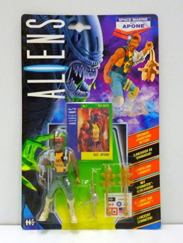 aliens vs predator kenner APONE UK exclusive 1992 moc mip mib