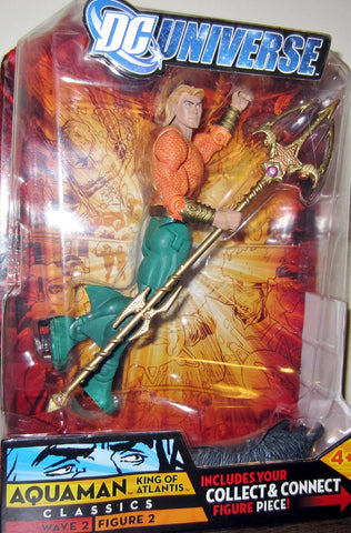 DC UNIVERSE classics AQUAMAN long hair VARIANT new moc wave 2 gorilla grodd series mattel