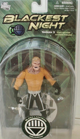 DC direct blackest night BLACK LANTERN AQUAMAN new moc series 3 universe