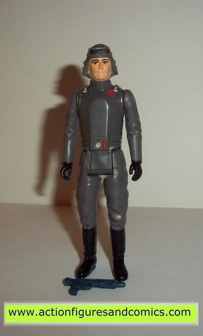 star wars action figures AT AT COMMANDER short lines 1980 kenner vintage 100% complete