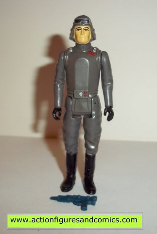 star wars action figures AT AT COMMANDER 1980 kenner vintage 100% complete