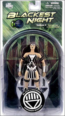 DC direct blackest night WONDER WOMAN black lantern new moc universe