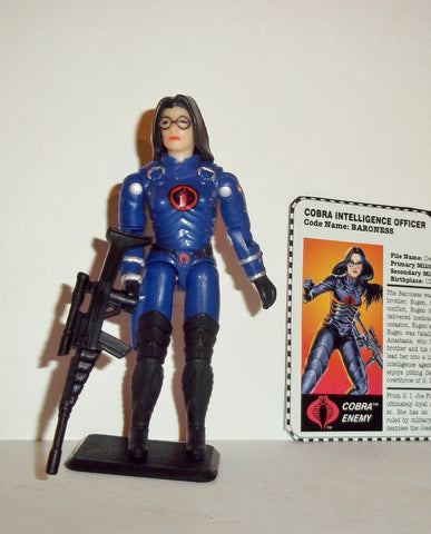 gi joe BARONESS 1997 v2 15th anniversary TRU exclusive series Complete