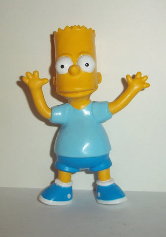 simpsons BART SIMPSON jesco bendy bendies complete action figure