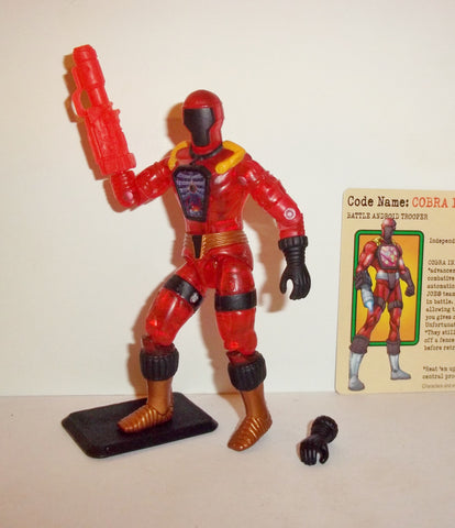 gi joe BAT INFERNO 2003 spy troops complete toys r us exclusive tru cobra b.a.t.s