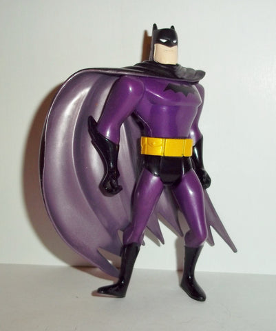 batman animated series BATMAN purple suit fig