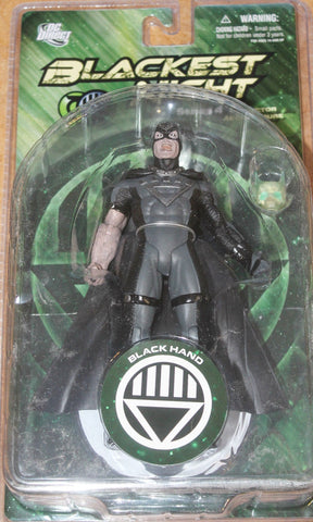 DC direct blackest night BLACK HAND series 4 new moc green lantern universe