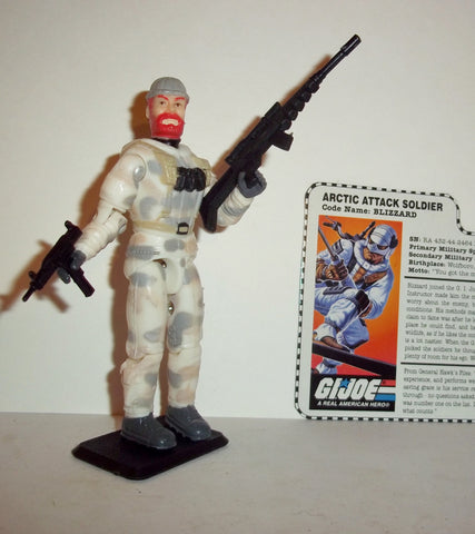 gi joe BLIZZARD 1997 15th anniversary TRU exclusive series Complete