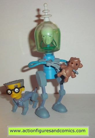 simpsons MR BURNS FUTURE playmates toys action figures world of springfield