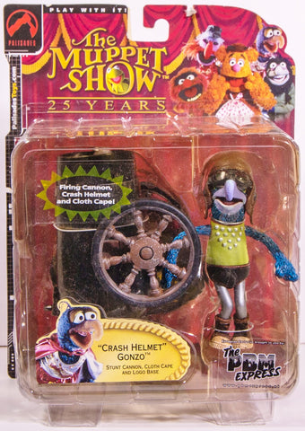 muppets the muppet show CRASH HELMET GONZO moc palasades toys 2002