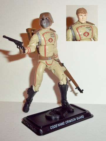 gi joe CRIMSON GUARD 2008 v13 25th anniversary DESERT TROOPER extreme conditions
