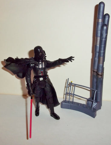 star wars action figures DARTH VADER bespin duel 2002 complete attack of the clones saga aotc