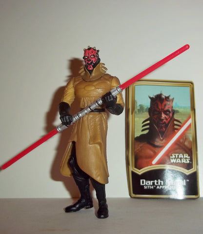 star wars action figures DARTH MAUL sith apprentice 2000 power of the jedi