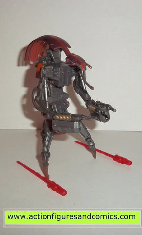 star wars action figures DESTROYER DROID #44 revenge of the sith complete