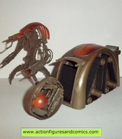 star wars action figures DESTROYER DROID Battle launcher 2005 hasbro toys action figures revenge of the sith
