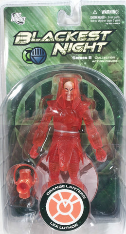 DC direct blackest night LEX LUTHOR ORANGE LANTERN new moc series 8 universe
